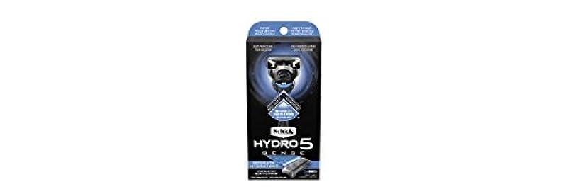 取るに足らない不潔動力学Schick Hydro5 Sense Hydrate 1 handle + 2 razor blade refills シックハイドロ5センスハイドレート1個+剃刀刃2個 [並行輸入品]