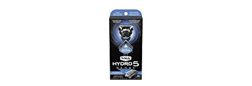 端末助言するウィスキーSchick Hydro5 Sense Hydrate 1 handle + 2 razor blade refills シックハイドロ5センスハイドレート1個+剃刀刃2個 [並行輸入品]