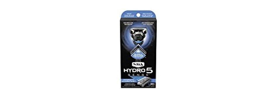 復活させる会計固体Schick Hydro5 Sense Hydrate 1 handle + 2 razor blade refills シックハイドロ5センスハイドレート1個+剃刀刃2個 [並行輸入品]