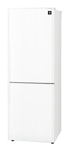 シャープ 冷蔵庫 スリム シンプルデザイン プラズマクラスター搭載 271L ホワイト SJ-PD27C-W