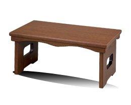 [해외]?机 불구 책상 화대 겸용 접이식 제물 책상 월넛 조 18 호/Buddhist warehouse desk Flower bed combined use Folding goods desk Walnut tone No. 18
