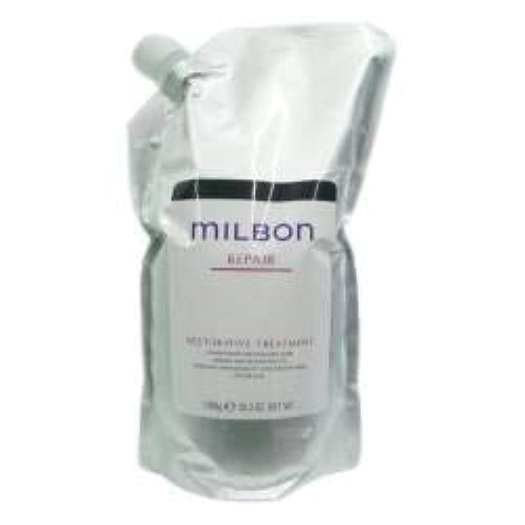 シンポジウム消化縁ミルボン リストラティブ トリートメント<つめかえ用>(1000g)