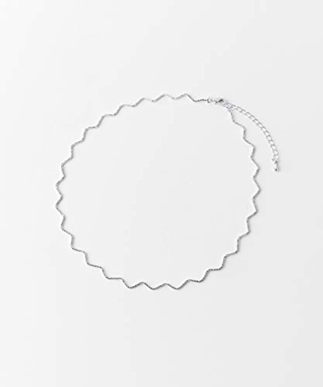 [スメリー] ネックレス ナミナミチェーンショートネックレス レディース SLV -