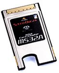 MS32A ASCBAMS32A-01 メモリースティック用PCカードアダプタ(高速転送タイプ)