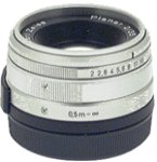 Carl Zeiss Planar T* 35mm F2 コンタックスGマウント