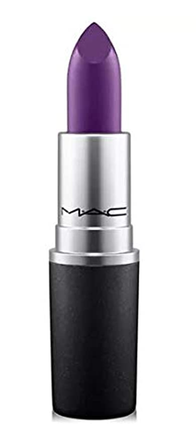 お手入れ美的セントマック MAC Lipstick - Plums Punk Couture - deep blackened grape (Matte) リップスティック [並行輸入品]