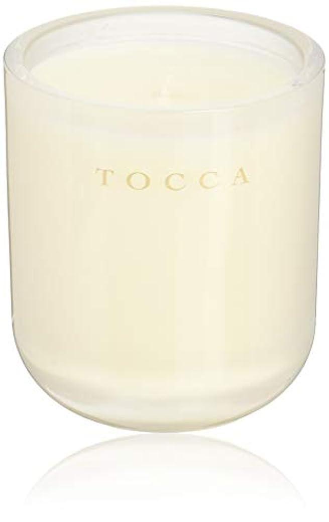 矛盾資源効率的TOCCA(トッカ) ボヤージュ キャンドル ボラボラ 287g (ろうそく 芳香 バニラとジャスミンの甘く柔らかな香り)