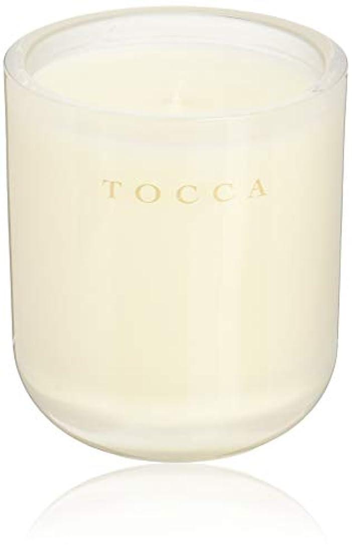 破壊する代表中級TOCCA(トッカ) ボヤージュ キャンドル ボラボラ 287g (ろうそく 芳香 バニラとジャスミンの甘く柔らかな香り)
