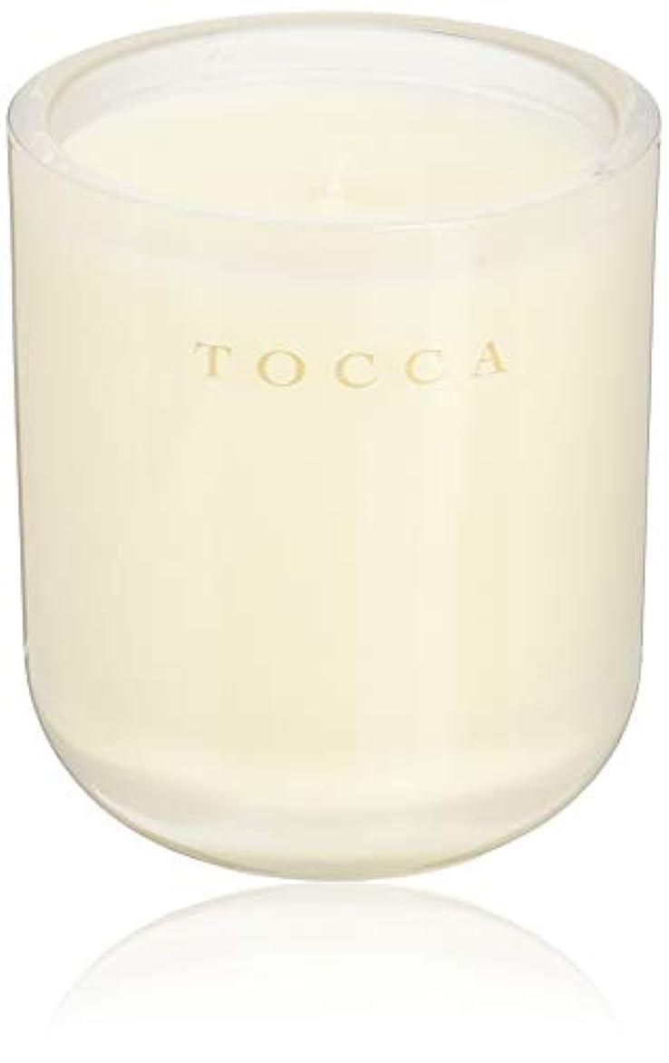 昼間少しスムーズにTOCCA(トッカ) ボヤージュ キャンドル ボラボラ 287g (ろうそく 芳香 バニラとジャスミンの甘く柔らかな香り)