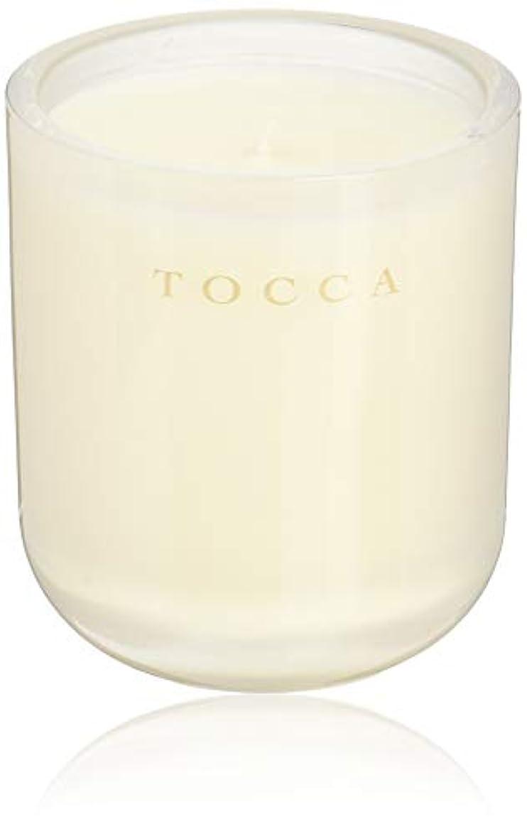 ブロー二よりTOCCA(トッカ) ボヤージュ キャンドル ボラボラ 287g (ろうそく 芳香 バニラとジャスミンの甘く柔らかな香り)