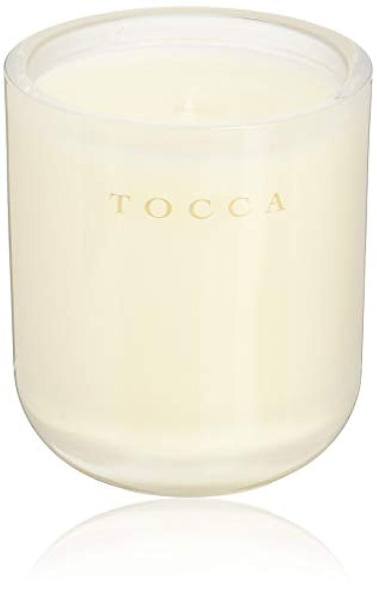 行く著名な処方TOCCA(トッカ) ボヤージュ キャンドル ボラボラ 287g (ろうそく 芳香 バニラとジャスミンの甘く柔らかな香り)