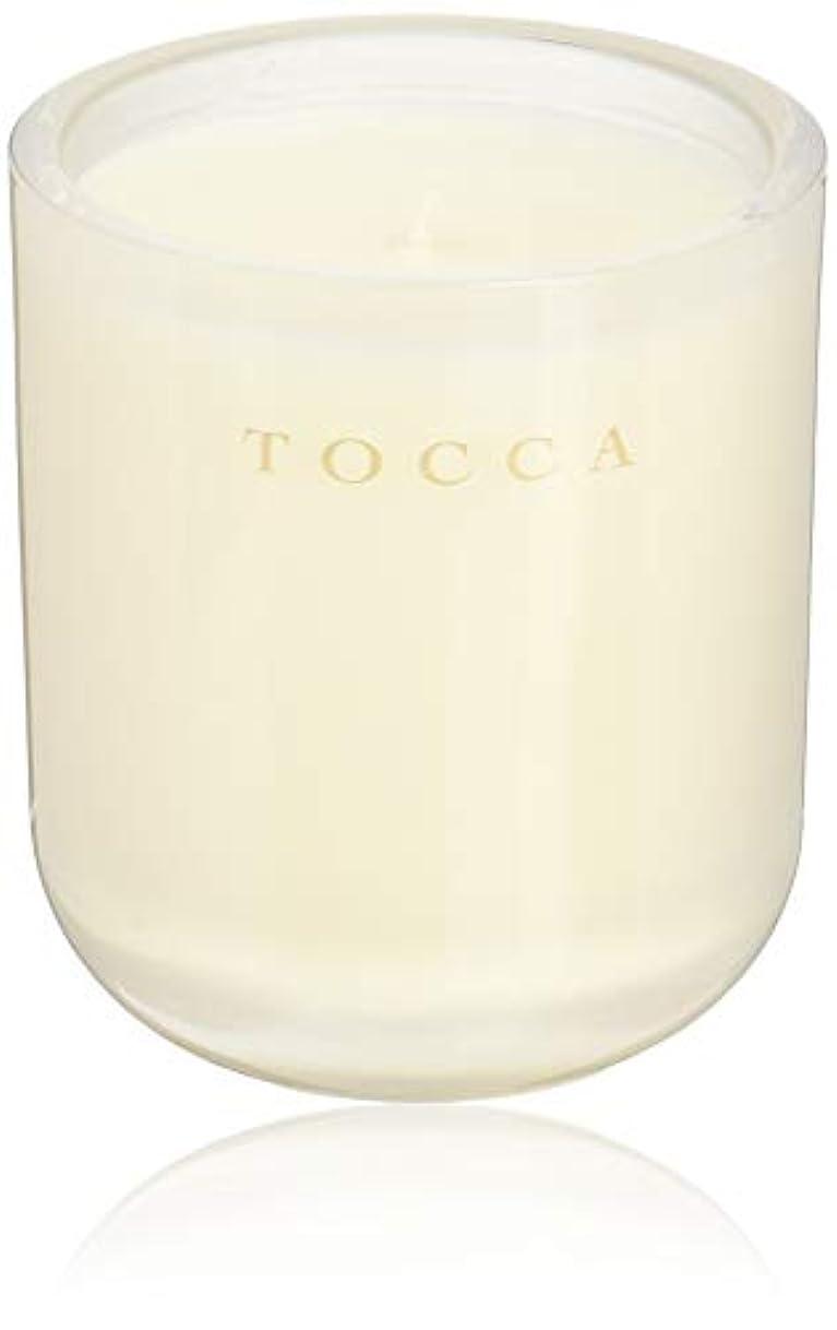 論理的に悪党反毒TOCCA(トッカ) ボヤージュ キャンドル ボラボラ 287g (ろうそく 芳香 バニラとジャスミンの甘く柔らかな香り)