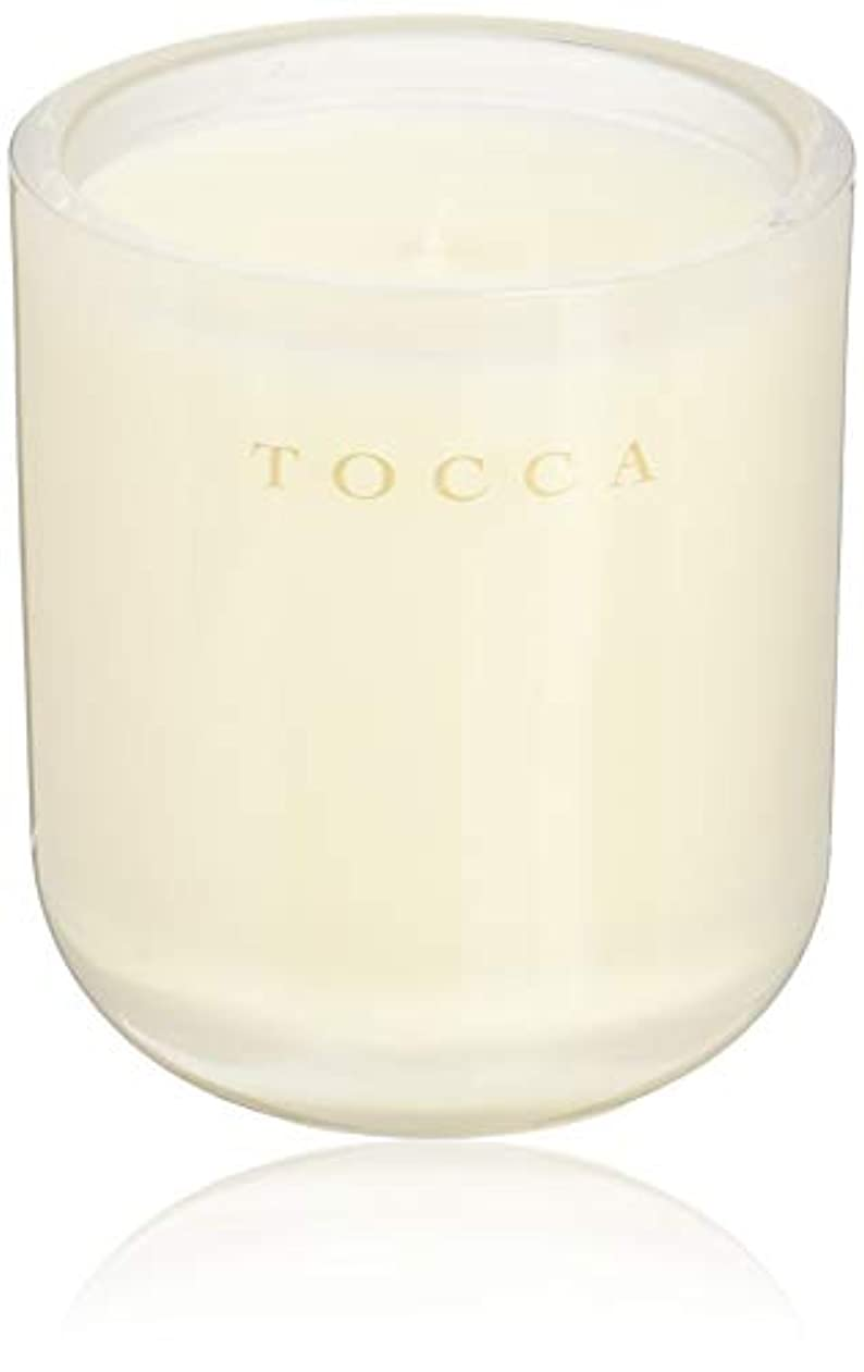 存在する回復紳士TOCCA(トッカ) ボヤージュ キャンドル ボラボラ 287g (ろうそく 芳香 バニラとジャスミンの甘く柔らかな香り)