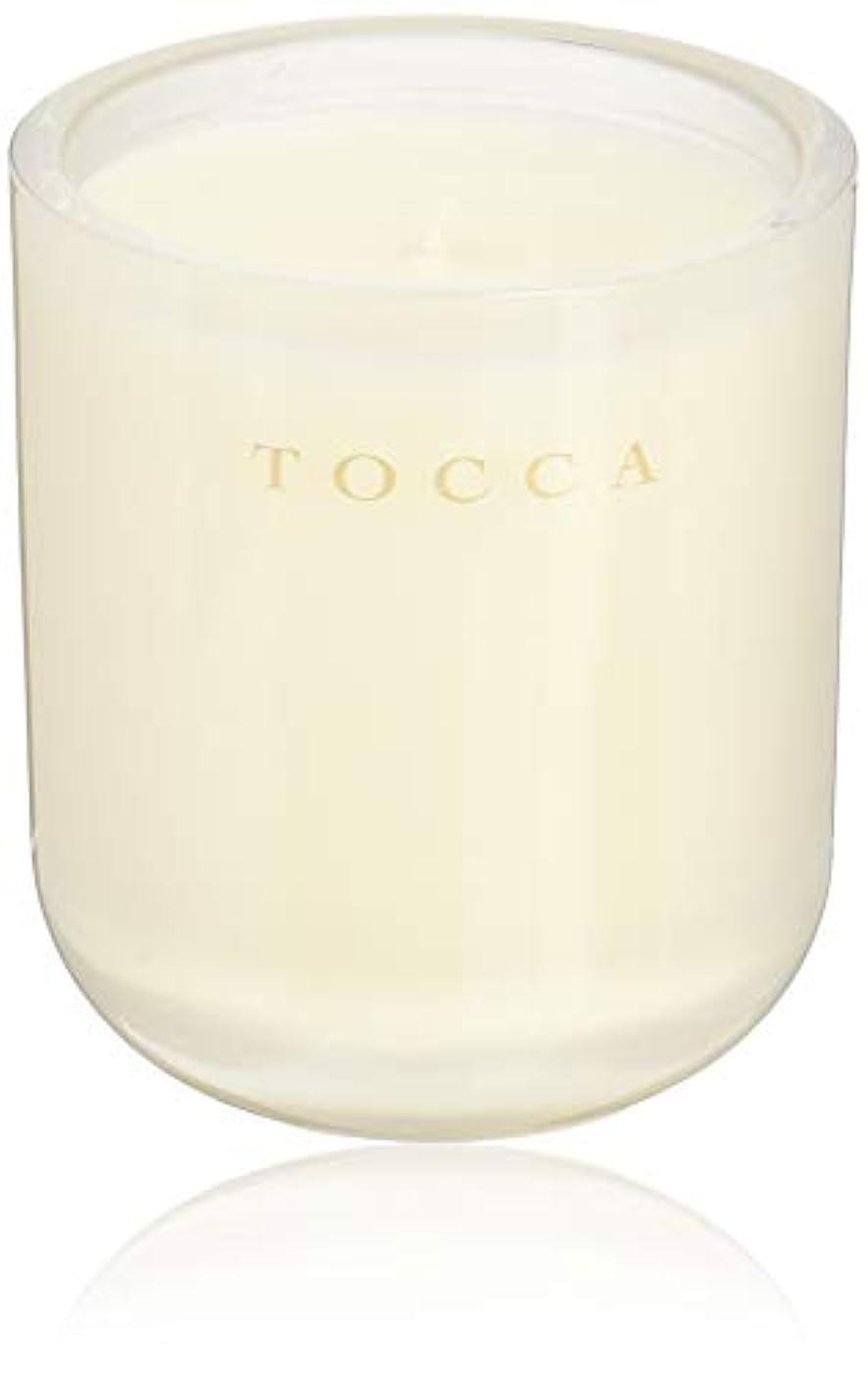 台風同志偽善TOCCA(トッカ) ボヤージュ キャンドル ボラボラ 287g (ろうそく 芳香 バニラとジャスミンの甘く柔らかな香り)