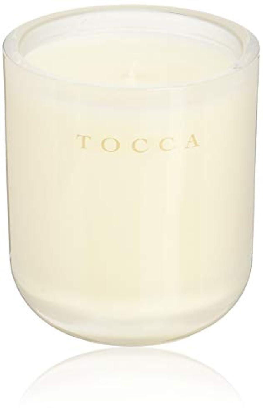 市区町村トースト悲観主義者TOCCA(トッカ) ボヤージュ キャンドル ボラボラ 287g (ろうそく 芳香 バニラとジャスミンの甘く柔らかな香り)