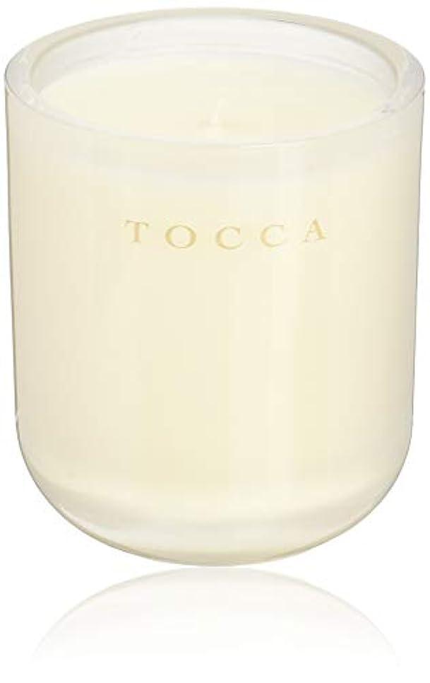 不利群れ技術TOCCA(トッカ) ボヤージュ キャンドル ボラボラ 287g (ろうそく 芳香 バニラとジャスミンの甘く柔らかな香り)