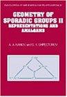 Geometry of Sporadic Groups: Volume 2, Representations and Amalgams (Encyclopedia of Mathematics and its Applications)
