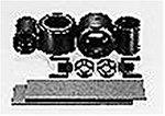 HOP-UP OPTIONS OP-375 F1ファイバーモールドタイヤB後輪
