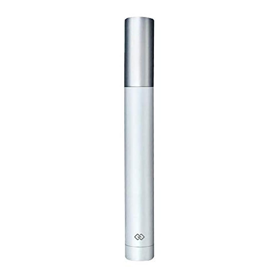ベギン脅威サワー鼻毛トリマー-密閉防水効果/シングルカッターヘッドシャープで耐久性のある/男性用剃毛鼻毛はさみ/ポータブルデザイン、旅行に便利/ 12.9 * 1.65cm 持つ価値があります (Color : White)