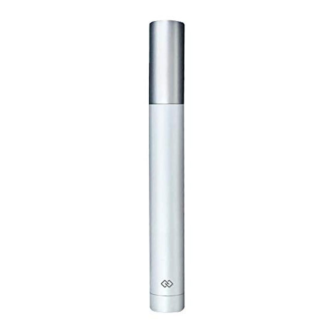 手入れ資格絶壁鼻毛トリマー-密閉防水効果/シングルカッターヘッドシャープで耐久性のある/男性用剃毛鼻毛はさみ/ポータブルデザイン、旅行に便利/ 12.9 * 1.65cm よくできた (Color : White)