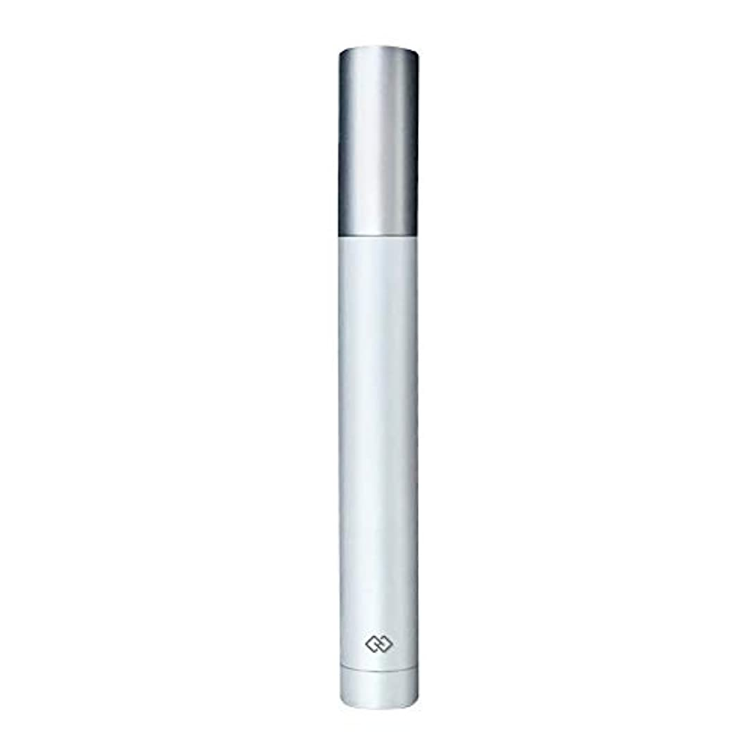コース簡単に配分鼻毛トリマー-密閉防水効果/シングルカッターヘッドシャープで耐久性のある/男性用剃毛鼻毛はさみ/ポータブルデザイン、旅行に便利/ 12.9 * 1.65cm よくできた (Color : White)