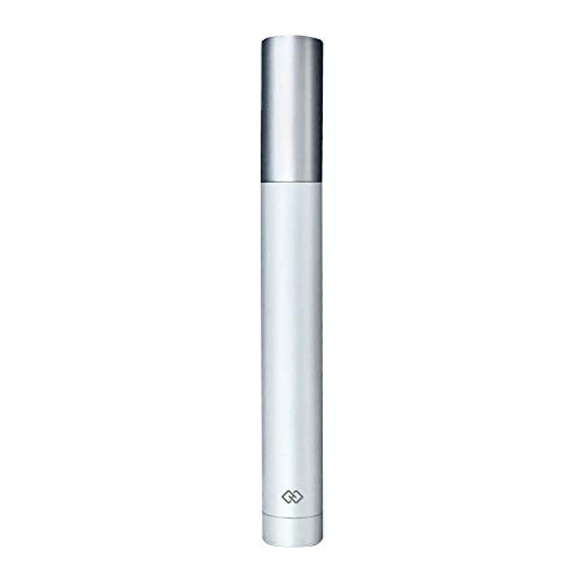 うなずくより多い波紋鼻毛トリマー-密閉防水効果/シングルカッターヘッドシャープで耐久性のある/男性用剃毛鼻毛はさみ/ポータブルデザイン、旅行に便利/ 12.9 * 1.65cm 持つ価値があります (Color : White)