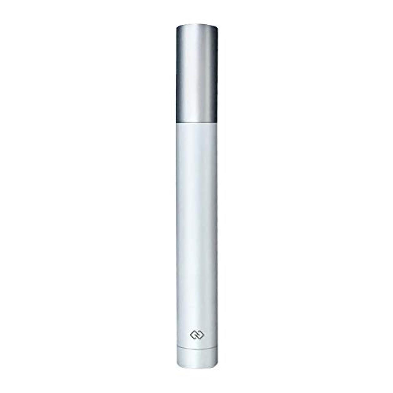 みなさん花硬さ鼻毛トリマー-密閉防水効果/シングルカッターヘッドシャープで耐久性のある/男性用剃毛鼻毛はさみ/ポータブルデザイン、旅行に便利/ 12.9 * 1.65cm 作り方がすぐれている (Color : White)