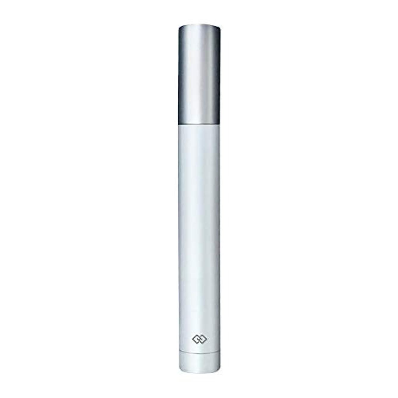 資産バン国家鼻毛トリマー-密閉防水効果/シングルカッターヘッドシャープで耐久性のある/男性用剃毛鼻毛はさみ/ポータブルデザイン、旅行に便利/ 12.9 * 1.65cm 操作が簡単 (Color : White)