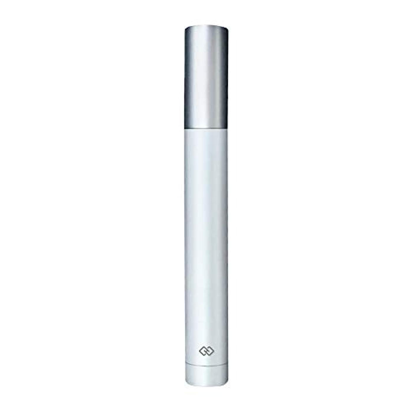 無線中級背景鼻毛トリマー-密閉防水効果/シングルカッターヘッドシャープで耐久性のある/男性用剃毛鼻毛はさみ/ポータブルデザイン、旅行に便利/ 12.9 * 1.65cm 持つ価値があります (Color : White)