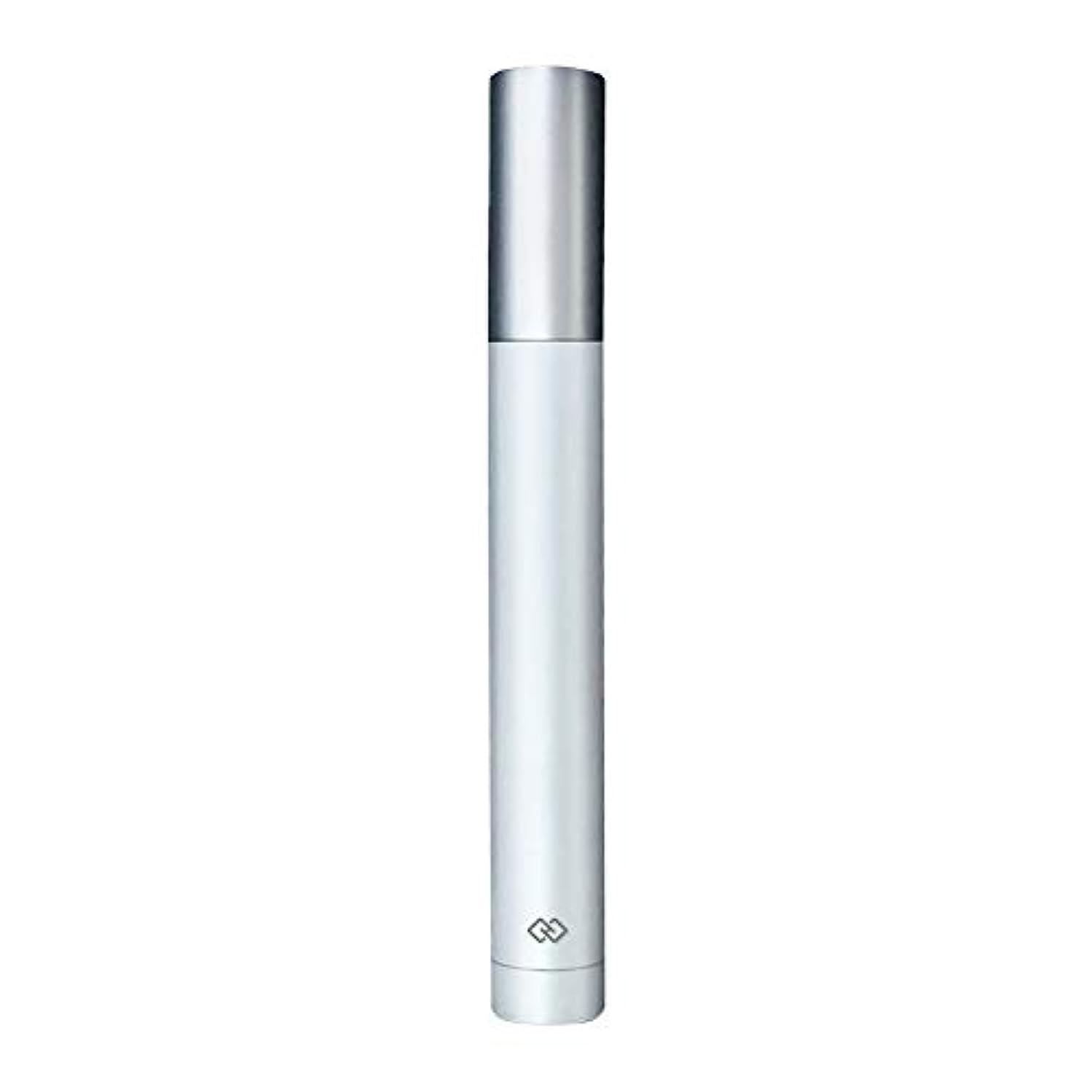 病気プール部門鼻毛トリマー-密閉防水効果/シングルカッターヘッドシャープで耐久性のある/男性用剃毛鼻毛はさみ/ポータブルデザイン、旅行に便利/ 12.9 * 1.65cm 操作が簡単 (Color : White)