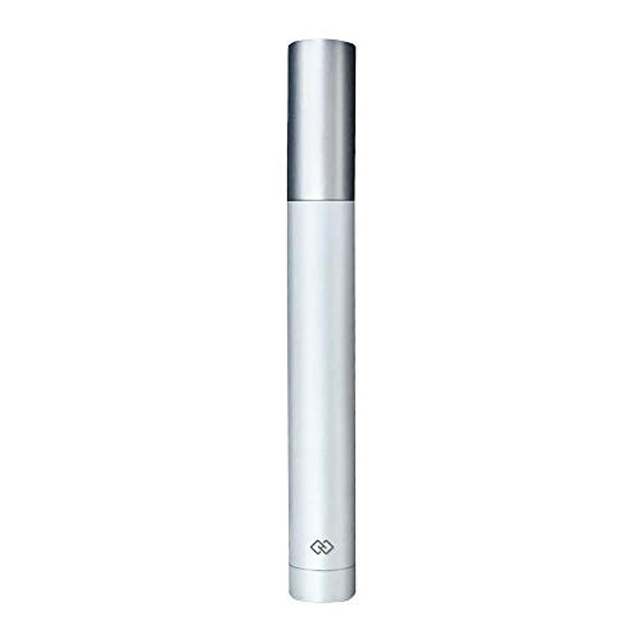 スペシャリスト平等女優鼻毛トリマー-密閉防水効果/シングルカッターヘッドシャープで耐久性のある/男性用剃毛鼻毛はさみ/ポータブルデザイン、旅行に便利/ 12.9 * 1.65cm 作り方がすぐれている (Color : White)