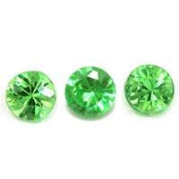 [해외](라운드 1.6mm 전후 5 석) & lt; br & gt; 그린 가넷의 합리적인 루스 스톤/(Round about 1.6 mm · 5 stones) & lt; br & gt; Reasonable · Loose Stone of Green Garnet