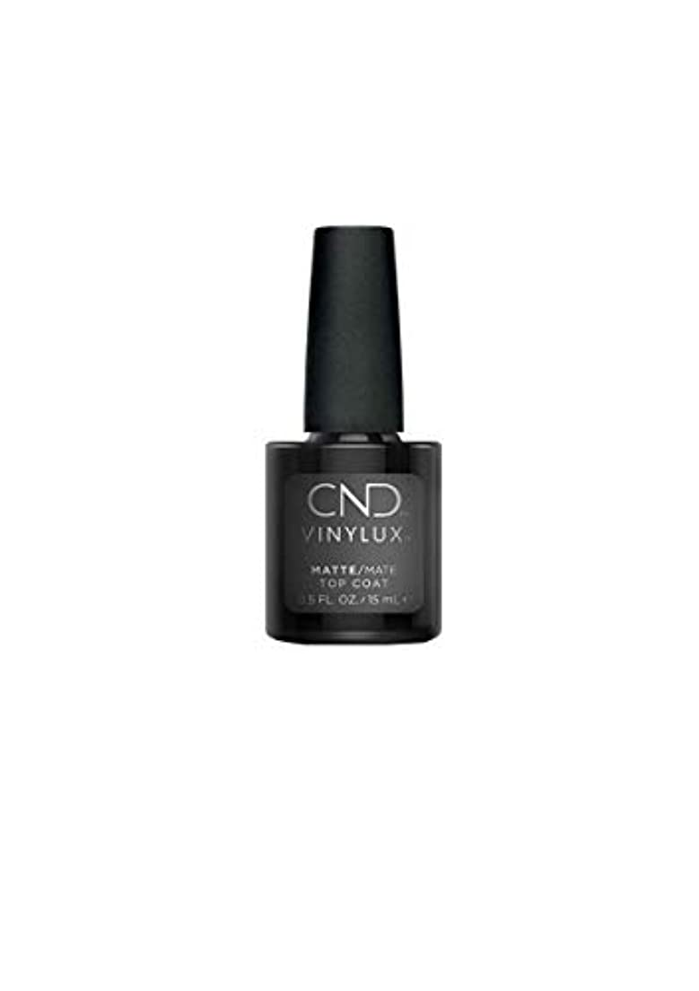 忘れっぽい収束醜いCND Vinylux - Matte Top Coat - 0.5oz / 15ml