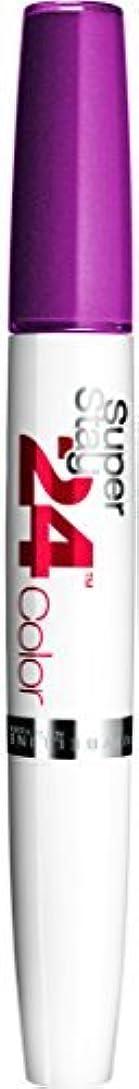 弓補助リンスMaybelline SuperStay24H Dual Ended Lipstick 240 Plum Seduction 9ml by Maybelline