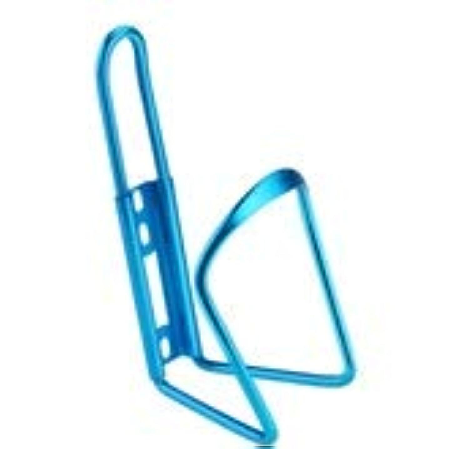 承認する浸透するわかるマウンテンバイクボトルケージ自転車アルミ合金ワンピースウォーターカップホルダーロードバイク軽量カップホルダーライディング (色 : 青)
