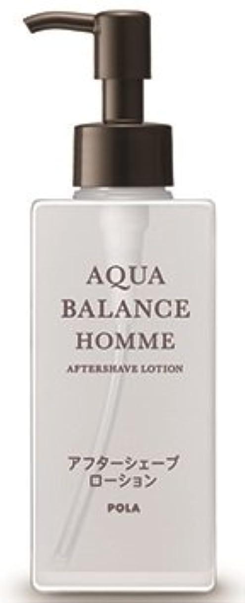 クラウン立証する講義AQUA POLA アクアバランス オム(AQUA BALANCE HOMME) アフターシェーブローション シェービング後に 化粧水 1L 業務用サイズ 詰替え 200mlボトルx2本