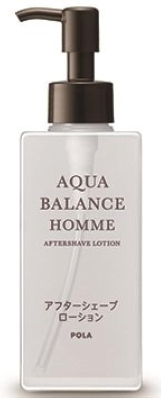 ガチョウヒステリック状況AQUA POLA アクアバランス オム(AQUA BALANCE HOMME) アフターシェーブローション シェービング後に 化粧水 1L 業務用サイズ 詰替え 200mlボトルx1本