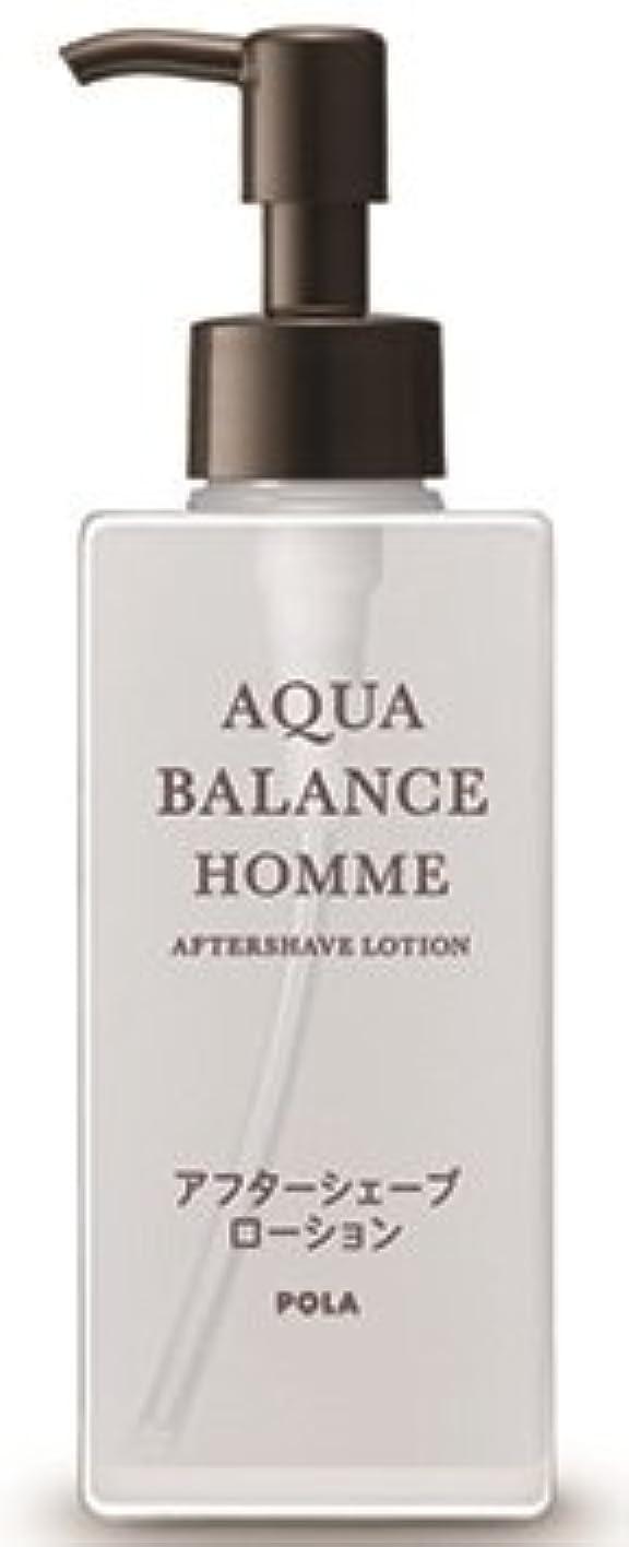 振る舞うリーチ淡いAQUA POLA アクアバランス オム(AQUA BALANCE HOMME) アフターシェーブローション シェービング後に 化粧水 1L 業務用サイズ 詰替え 200mlボトルx1本