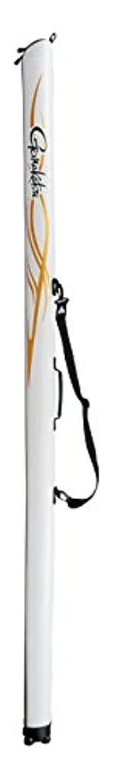 バウンスウィザード半円がまかつ(Gamakatsu) ロッドケース スリムロッドケース GC-270 145 ホワイト×ゴールド