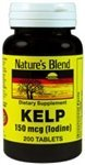 Nature's Blend Kelp 150 mcg (Iodine) 200 Tablets by Nature's Blend