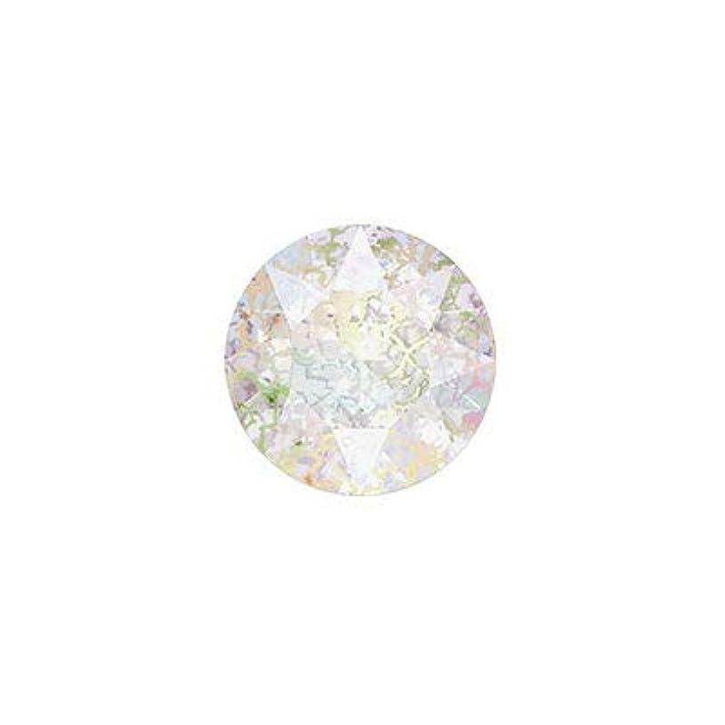 可塑性真夜中想像力豊かなSWAROVSKI クリスタルホワイトパティナ ss39 #1088 チャトン(Vカット) 8P