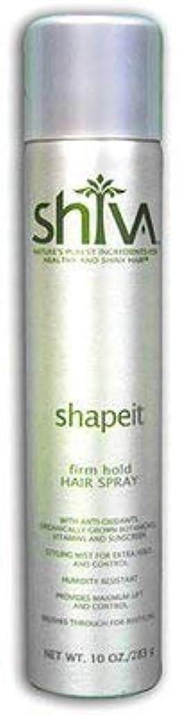 減らす時刻表瞬時にShiva ShapeITヘアスプレー