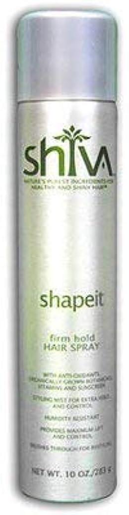 一過性些細なブレースShiva ShapeITヘアスプレー