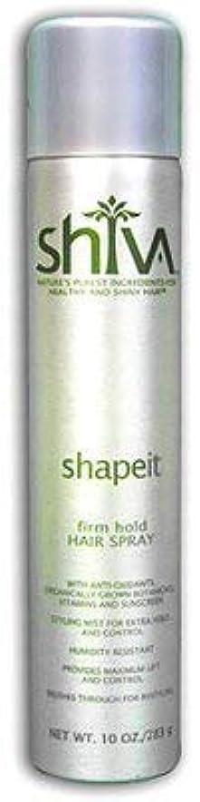 データベース反抗社会科Shiva ShapeITヘアスプレー