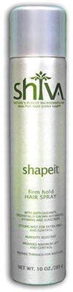 反対に免疫する黙認するShiva ShapeITヘアスプレー