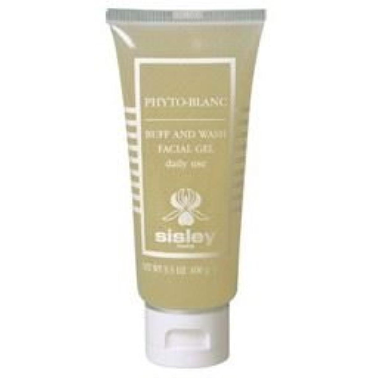 グリル円形の脚[Sisley] シスレーフィトブランバフ&ウォッシュ100ミリリットル - Sisley Phyto-Blanc Buff & Wash 100ml [並行輸入品]