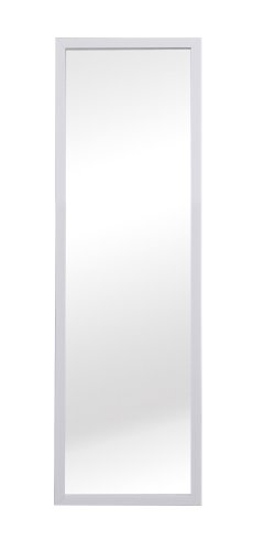 RoomClip商品情報 - 軽量 ウォールミラー 90cm ホワイト NK-216