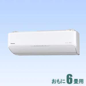 パナソニック 【エアコン】エオリアおもに6畳用 (冷房:6~9畳/暖房:6~7畳) AXシリーズ (クリスタルホワイト) CS-AX229C-W
