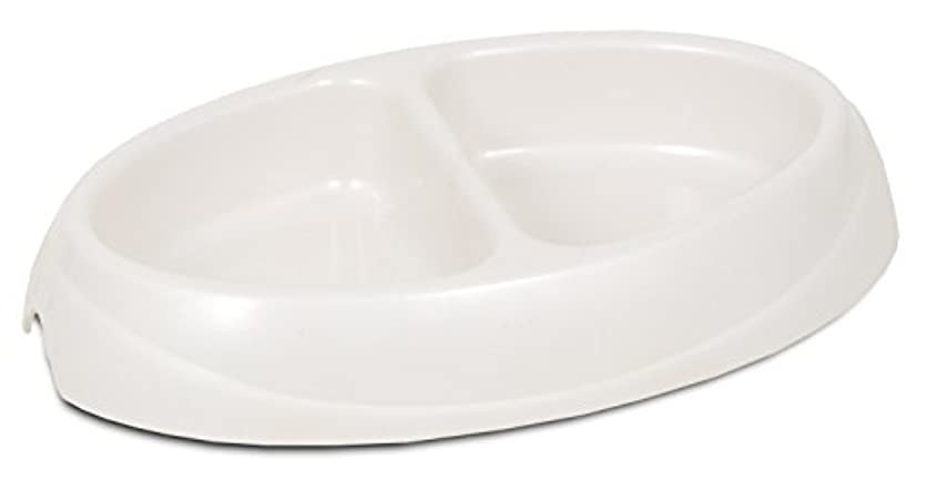 Medium Designer Pet Double Bowl Dish-MED DSGNR DISH DBL DINER (並行輸入品)