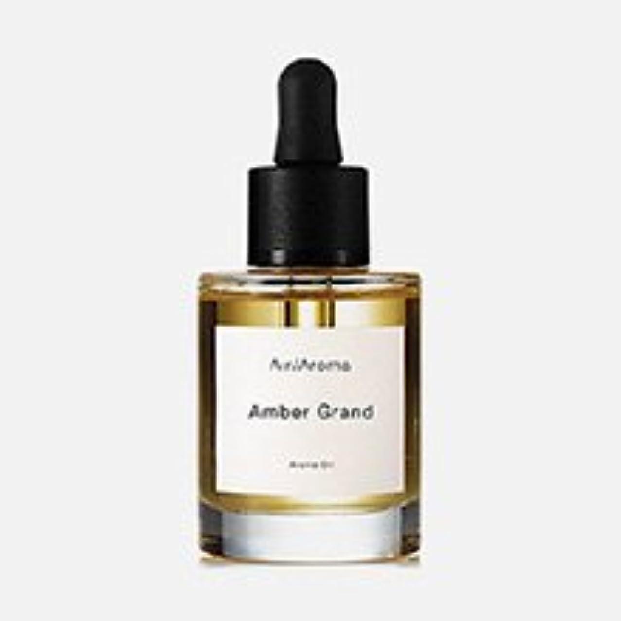 傾向アボート粘着性エアアロマ Amber Grand (アンバーグランド) 30ml